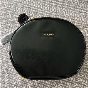 NEW Lancôme Black Travel Zippered Case